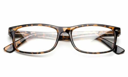 Unisex Non-Prescription Simple Design No Logo Clear Lens Glasses Tortoise Shell