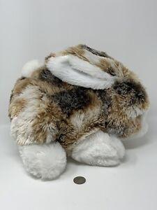 Dan-Dee-Plush-Brown-White-Bunny-Rabbit-Large-12-034-Soft-Stuffed-Animal-Toy
