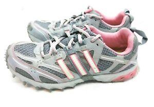 Adidas Kanadia TR3 Women's Size 6 Gray Pink Trail Running