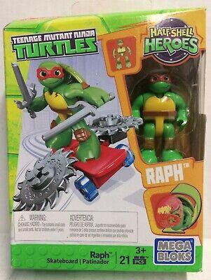 4 Mega Bloks 2015 Teenage Mutant Ninja Turtles Half-Shell Heroes TMNT Complete