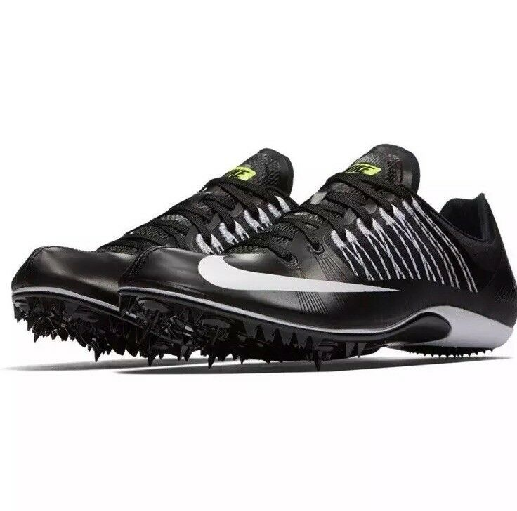 Nike Zoom Celar 5 Black 629226-017 Men's Track and Field Sprint Spikes Size 10.5