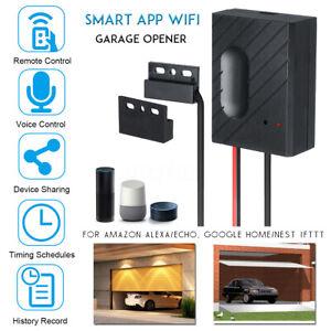 Aplicacion-para-Smartphone-Wifi-Inalambrica-Casa-Abridor-De-Puerta-De-Garaje-Kit-de-interruptor-de