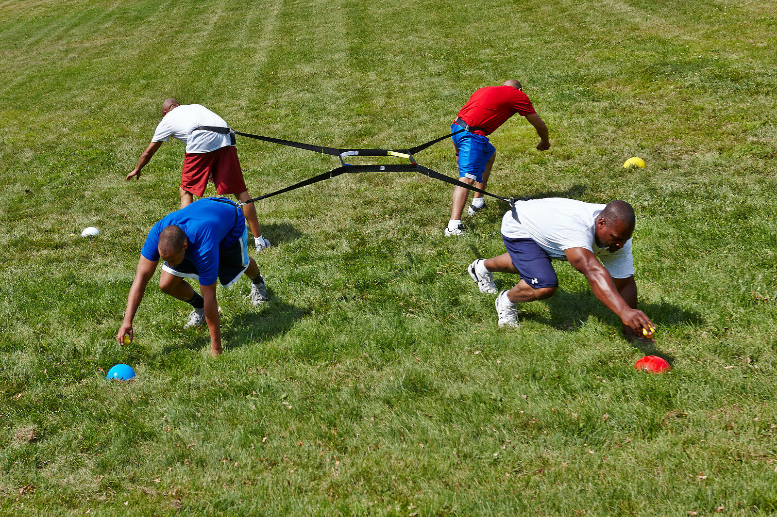 4 WAY TUG OF WAR - Increase your Sklz in every Sport -Best physical challenge