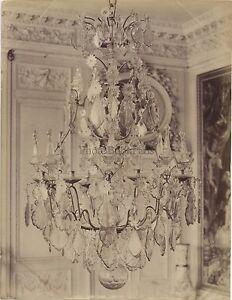 Compiègne Lustre France Vintage Albumine ca 1880