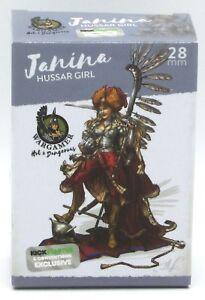 Wargamer-HD-28-22-Janina-Hussar-Girl-28mm-Hot-amp-Dangerous-Female-Polish-Hero