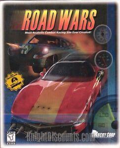 ROAD-WARS-Rare-Classic-Combat-Racing-Simulation-PC-Game-NEW-in-BIG-BOX