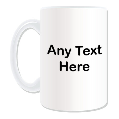 Personalised Gift Elf Flower Girl Mug Money Box Cup Fairy Tale Name Message Tea