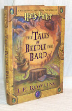 HARRY POTTER The Tales of Beedle the Bard J.K. Rowling printed SIGNATURE 1st  Ed