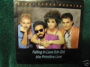 Miami Sound Machine - Falling In Love (Uh-Oh) (1985, Vinyl