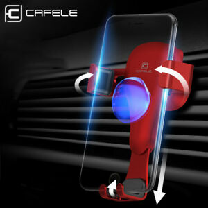 Universal Air Vent Gravity Car Mobile Phone Mount Holder Stand Cradle iPhone