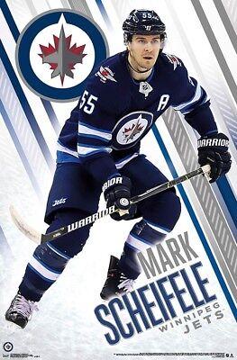 22x34 NHL HOCKEY 17451 WINNIPEG JETS POSTER MARK SCHEIFELE