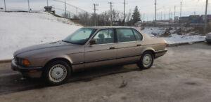 1989 BMW Série 7 750il