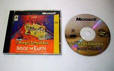 Magic School Bus Inside The Earth PC CD-ROM Game Windows 95/98 XP Vista 7 8 10