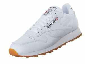 a2e2795dcf3aa Details about Reebok Men's Classic Leather Sneaker White/Gum 10.5 M US