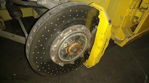 Lamborghini Gallardo Front Left Carbon Ceramic Brake Disc Rotor Oem