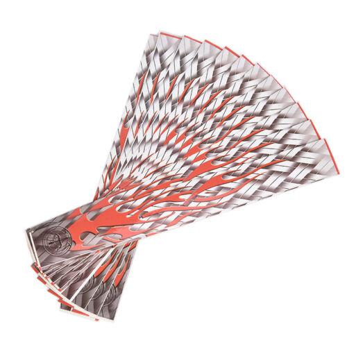 12pcs//set Arrow Sticker Heat Arrow Wraps Universal DIY Arrows for HunARUS