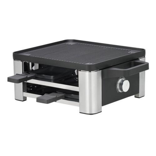 WMF Lono Raclette for 4 Wendegussplatte Tischgrill Bratplatte Grillen 650 Watt