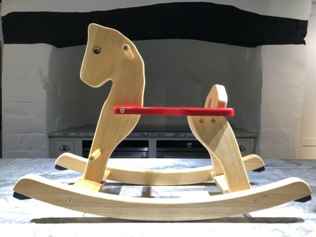 Beautiful John Lewis Wooden Rocking Horse