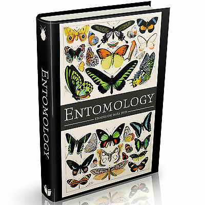 235 Vintage ENTOMOLOGY Books on DVD Insects Zoology Butterflies Illustrations