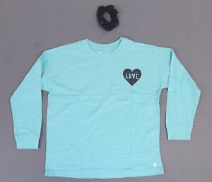 Girls Arizona Short Sleeve V Neck T-Shirt Top NWT  Black    Size  10//12