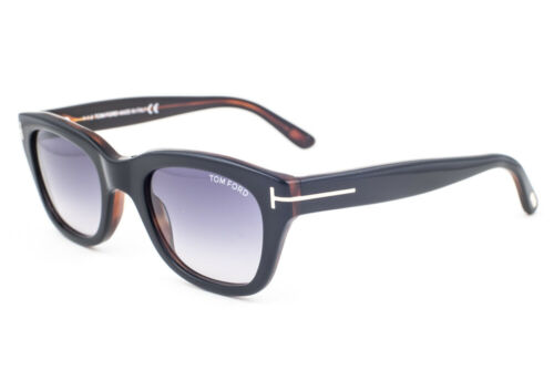 Gray Sunglasses TF237 05B 50mm Tom Ford Snowdon Black