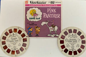 View-Master Complete 2 Reels Set Pink Panther J12
