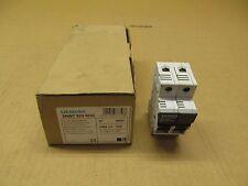 6 NIB SIEMENS 3NW7-523-0HG 3NW7523-0HG FUSE HOLDER 32AMP 2POLE 600VAC CLASS CC