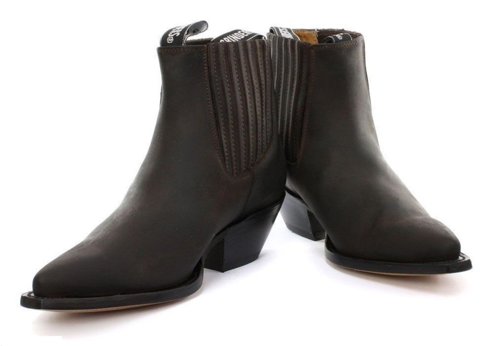 Grinders Mustang Unisesx  Cowboy Western braun Leather Stiefel