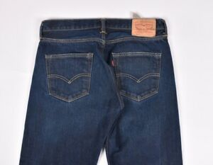 Levis-501-Droit-Bleu-Hommes-Jean-Taille-32-32