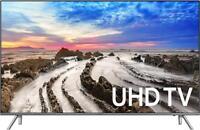 Samsung Un65mu8000 65 Smart Led 4k Ultra Hd Flat Tv With Hdr 2017 65mu8000