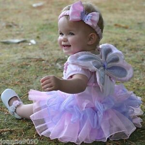 Girls-Baby-Toddler-Fairy-Angel-Wings-Princess-Tutu-Butterfly-Fancy-Dress-Costume