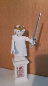 Playmobil Ägypten Römer Caesar auf Mamorsäule Gottheit mit Chromschwert  NR:B-83