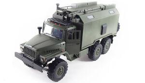 RC-LKW-Ural-B36-Militaer-LKW-6WD-RTR-1-16-gruen-inkl-Akku-Ladegeraet-NEU