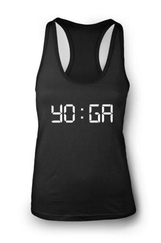 Yoga Time Gym Vest Women Racerback Yoga Workout Vest Tank Sports Top Clothes