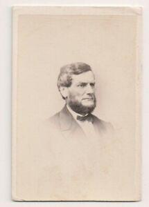Vintage-CDV-David-P-Nichols-Member-Connecticut-State-House-1860-1865-amp-1880