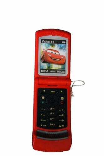 Disney Cars Razor Flip Phone with Sounds