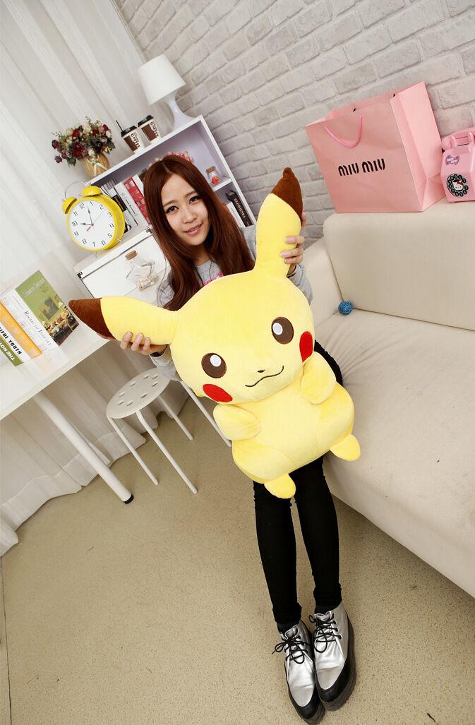 Pokemon Pikachu Anime Manga Plüschfigur PLÜSCH STOFF H 85cm Neu  | Moderne und elegante Mode