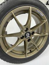 Allwetterkomplettradsatz Smart Forfour 453 Alloy Wheels Sparco Trofeo Bronze