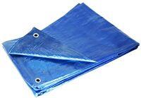 Grizzly Tarps Gtrp810 8 X 10-feet Blue Multi-purpose 6-mil Waterproof Poly Tarp on Sale