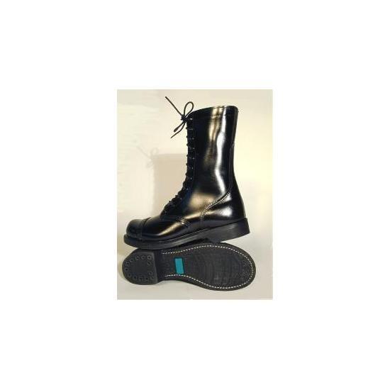 Leather Combat Jump Stiefel Steel Toe schwarz Carolina Carolina Carolina like Corcoran made USA Munson ba0693