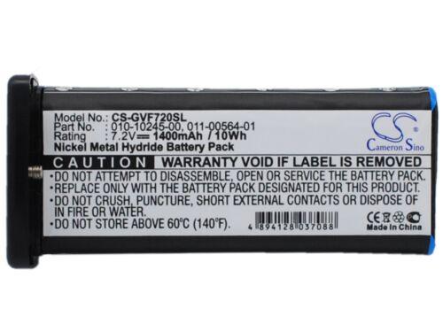 Navigator Battery VHF 725e 1400mAh GPS Battery For Garmin VHF 720 VHF 725