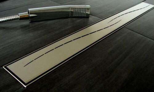 Duschrinne Ablaufrinne Bodenablauf Fliesenmulde Dusche Rost Edelstahl 50-150 cm