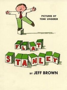 Flat-Stanley-Library-by-Brown-Jeff-Brand-New-Free-shipping-in-the-US