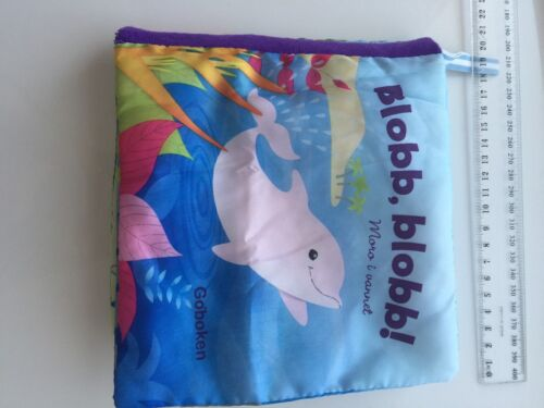 Baby Kid Boy Educational Dolphin cloth Story Book Toy Norwegian Christmas Gift
