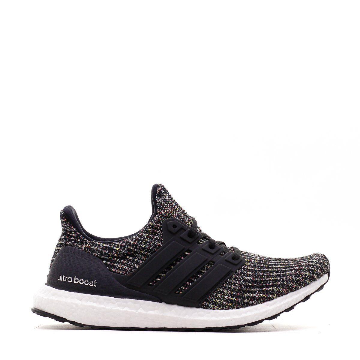 Para Hombre Adidas Ultra Boost 4.0 Core carbón Negro Plata Ceniza de carbón Core CM82018 0ab215