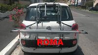 PORTABICI POSTERIORE 3 BINARI FIAT 500L ANNO 2012 PER 3 BICI UOMO DONNA AFS ROMA