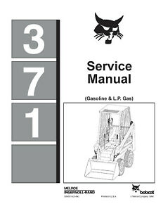 BOBCAT-MODEL-371-SKID-STEER-LOADER-SERVICE-MANUAL-BOOK-NUMBER-6545574-2-84