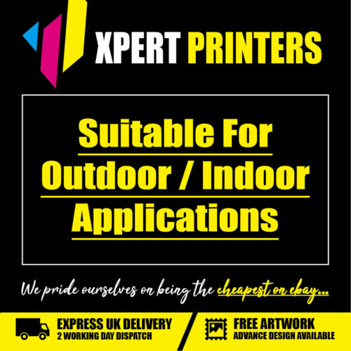 14ft x 2ft PVC Banner Custom Printed Outdoor Heavy Duty Banners Advertising