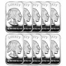 American Buffalo 1oz .999 Fine Silver Bar by SilverTowne