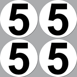 4-Sticker-10cm-Start-Number-5-Digit-Number-Car-Motorcycle-Racing-Kart-Gokart